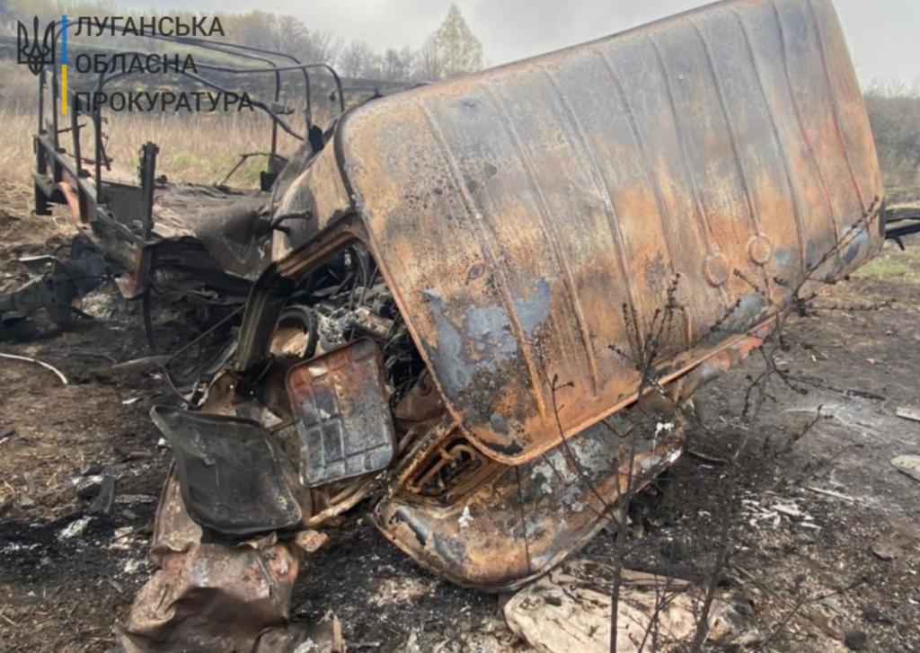 Грузовик боевиков ВСУ подорвался в Донбассе
