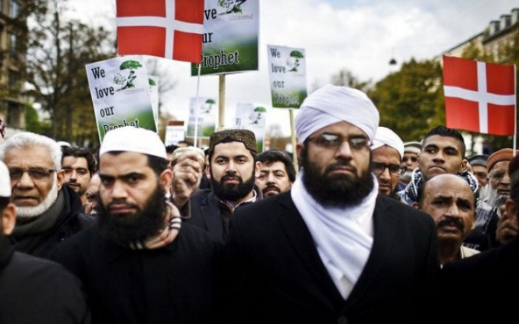 мусульманские мигранты в Дании