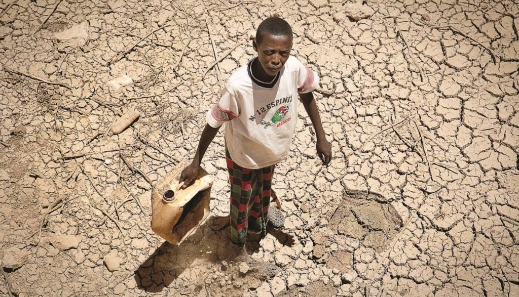 голод и борьба за ресурсы в Африке