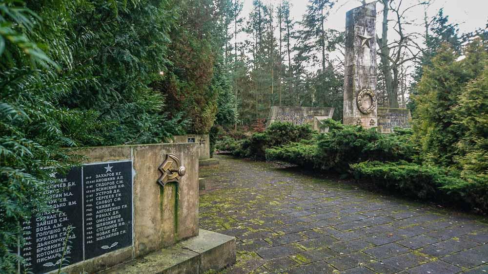 Эберсвальде, мемориальное военное советское кладбище