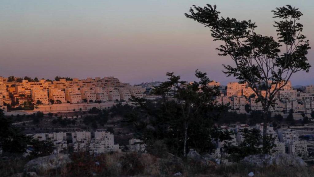 еврейские незаконные поселения на палестинских землях