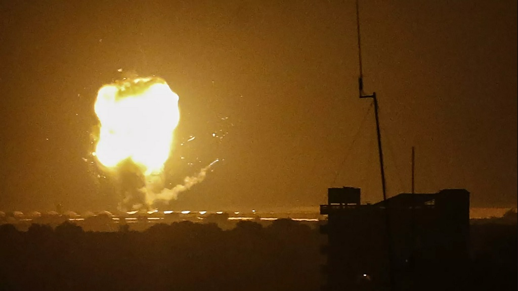 воздушные атаки Газы