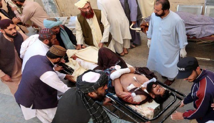На пропалестинском митинге в Пакистане произошел теракт
