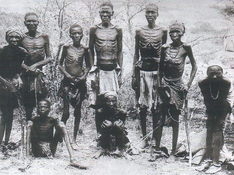 геноцид африканских  племен гереро и нама со стороны Германии