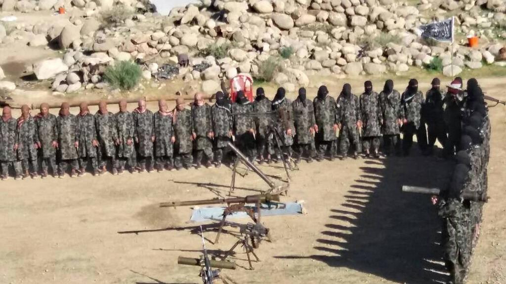 тренировочный лагерь талибов