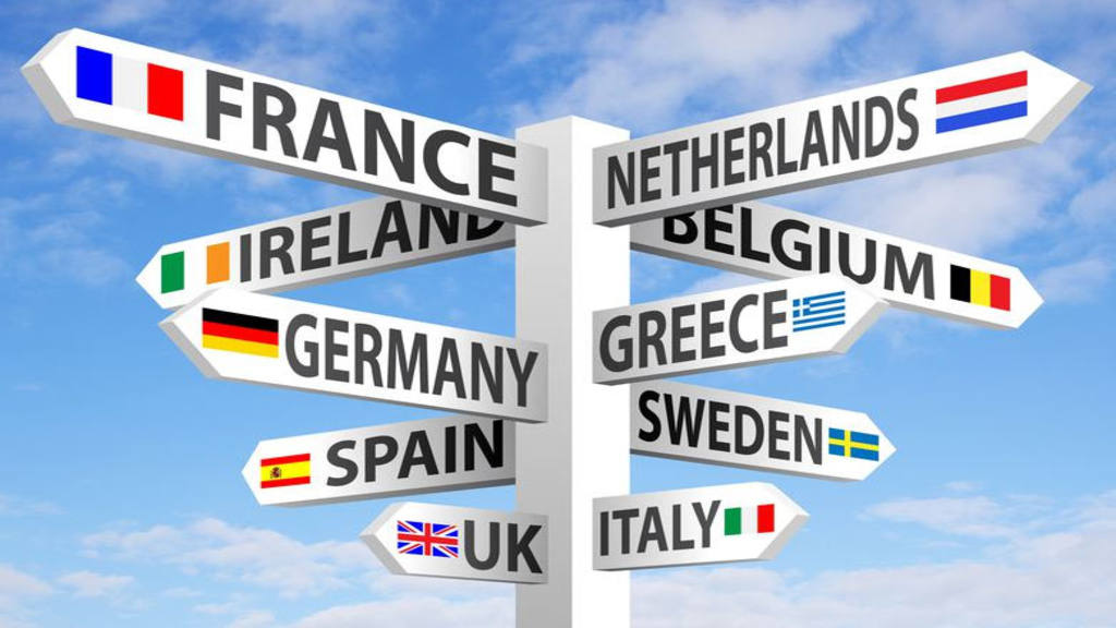 Шенген в Европе
