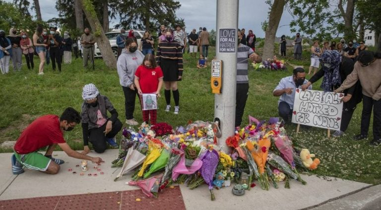 наезд на семью мусульман в Канаде