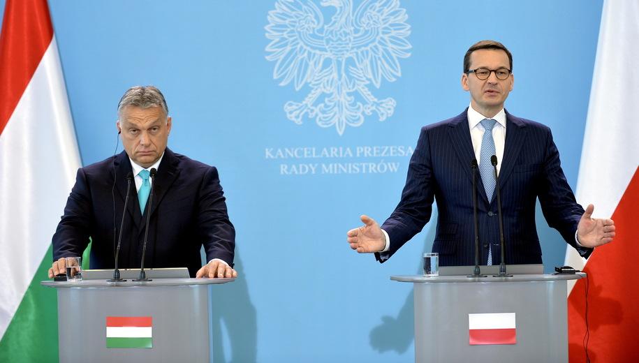 премьеры Венгрии и Польши
