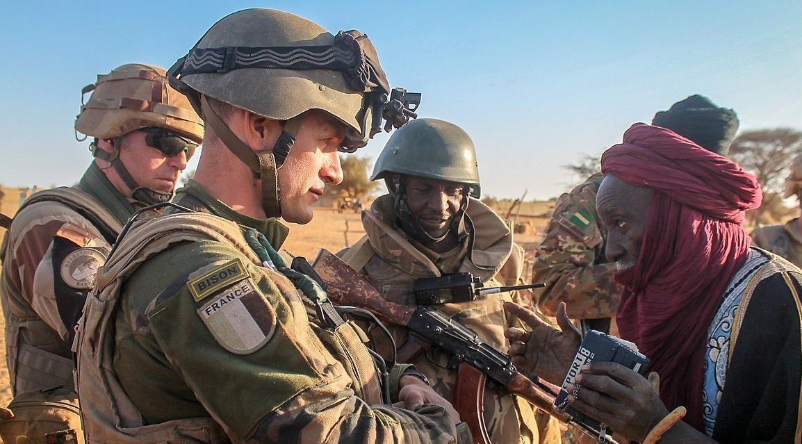 французские военные в Сахеле