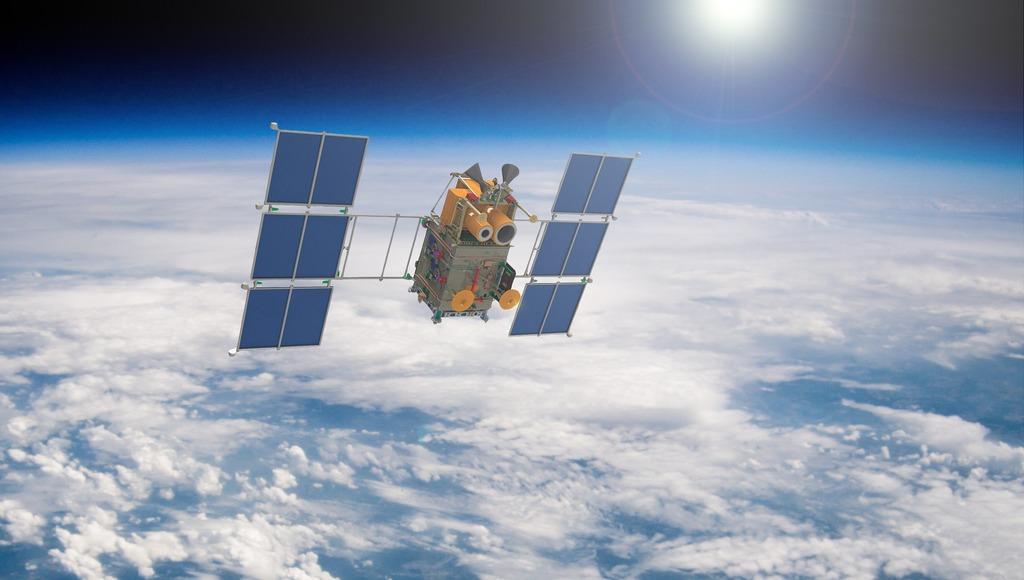 российский спутник «Канопус-В»