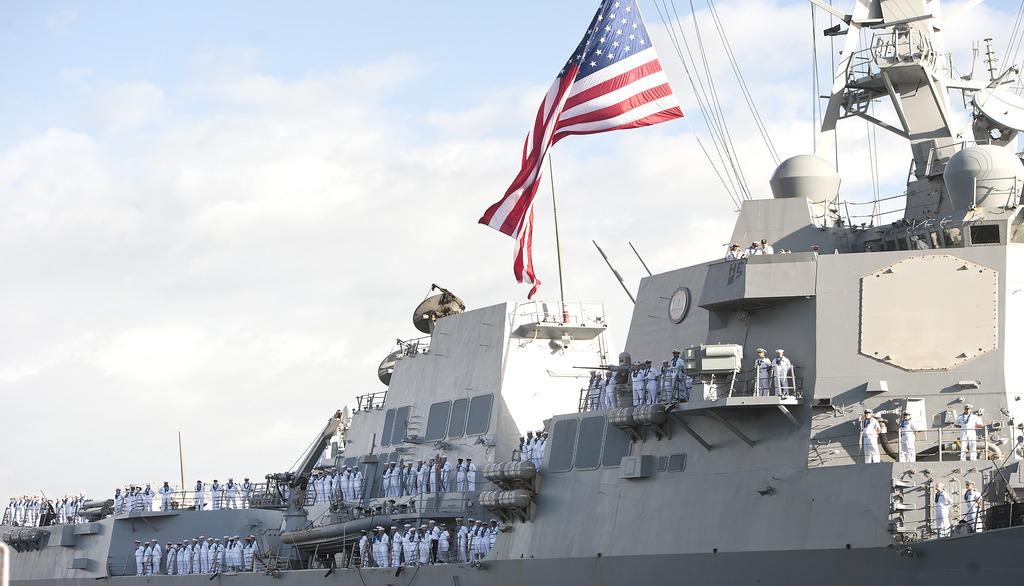 американский эсминец USS_Halsey