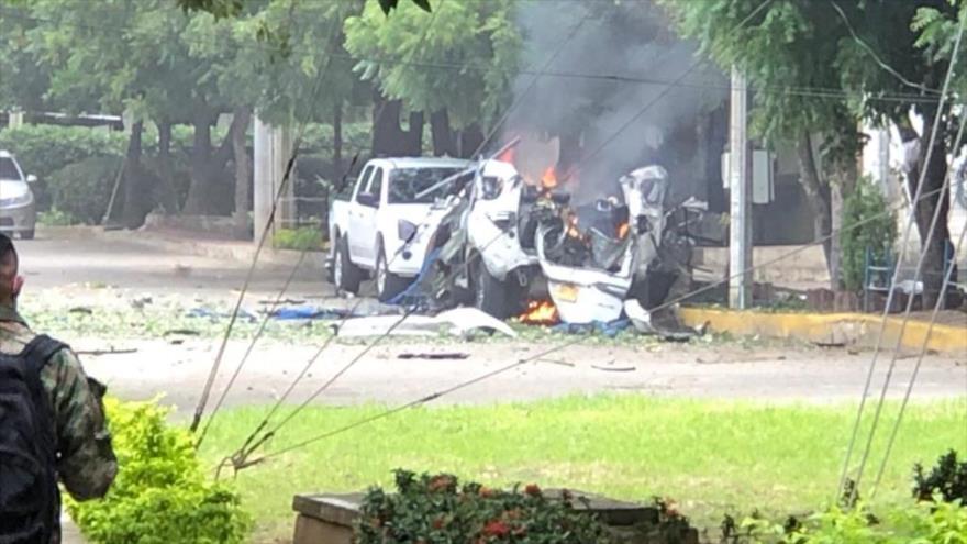 нападение на военную базу в Колумбии