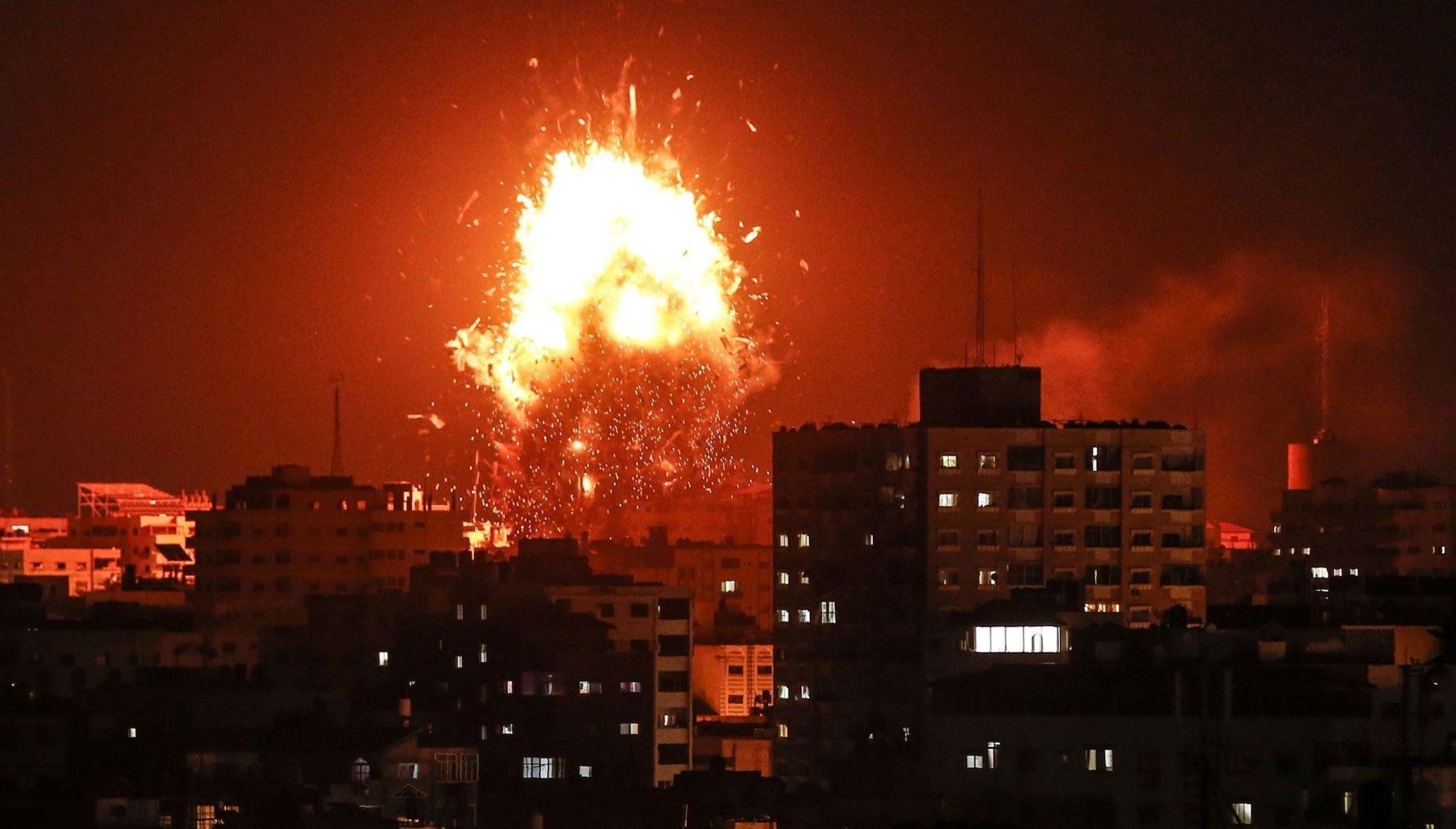 удары по Газе, ноябрь 2018