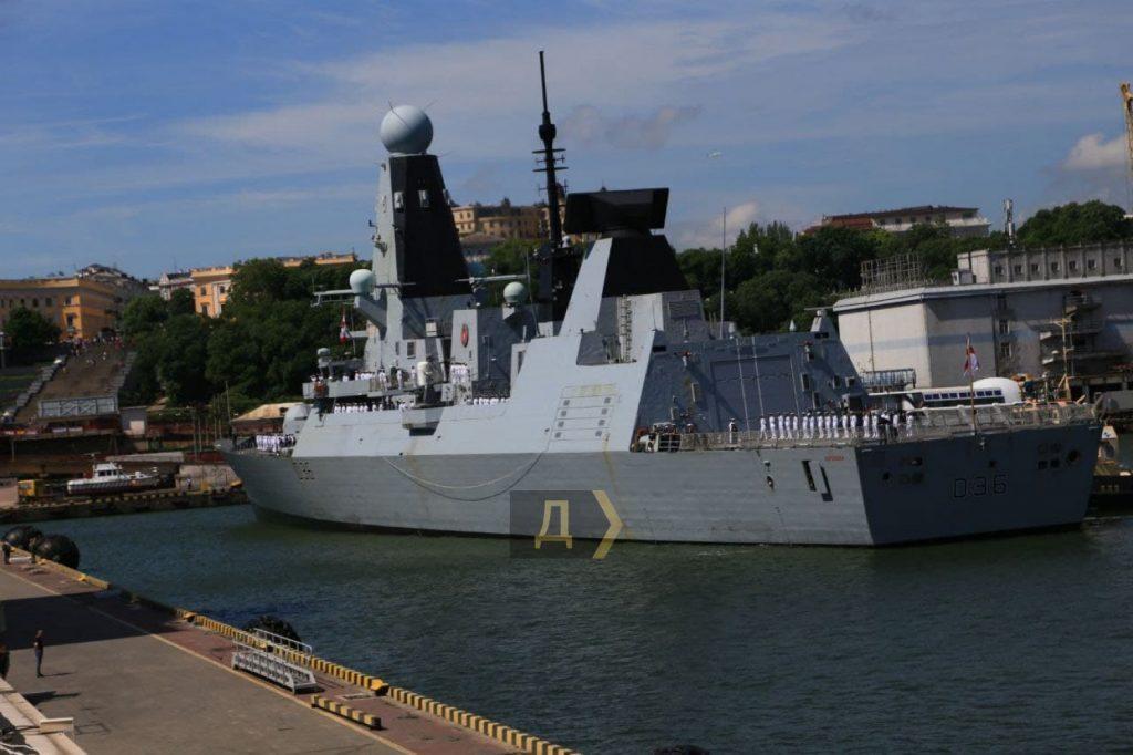 В Одесском порту пришвартовались два корабля НАТО