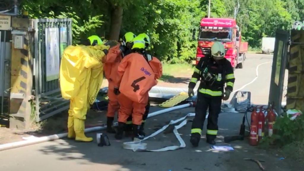 Утечка химических веществ в Чехии, есть жертвы