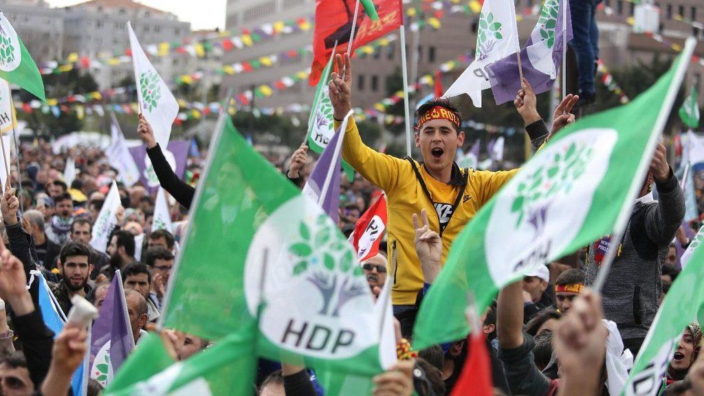 прокурдская партия HDP