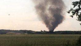 В Ленобласти разбился вертолёт Росгвардии. Три человека погибли