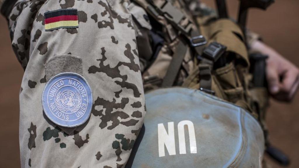 солдаты ФРГ в составе миссии ООН