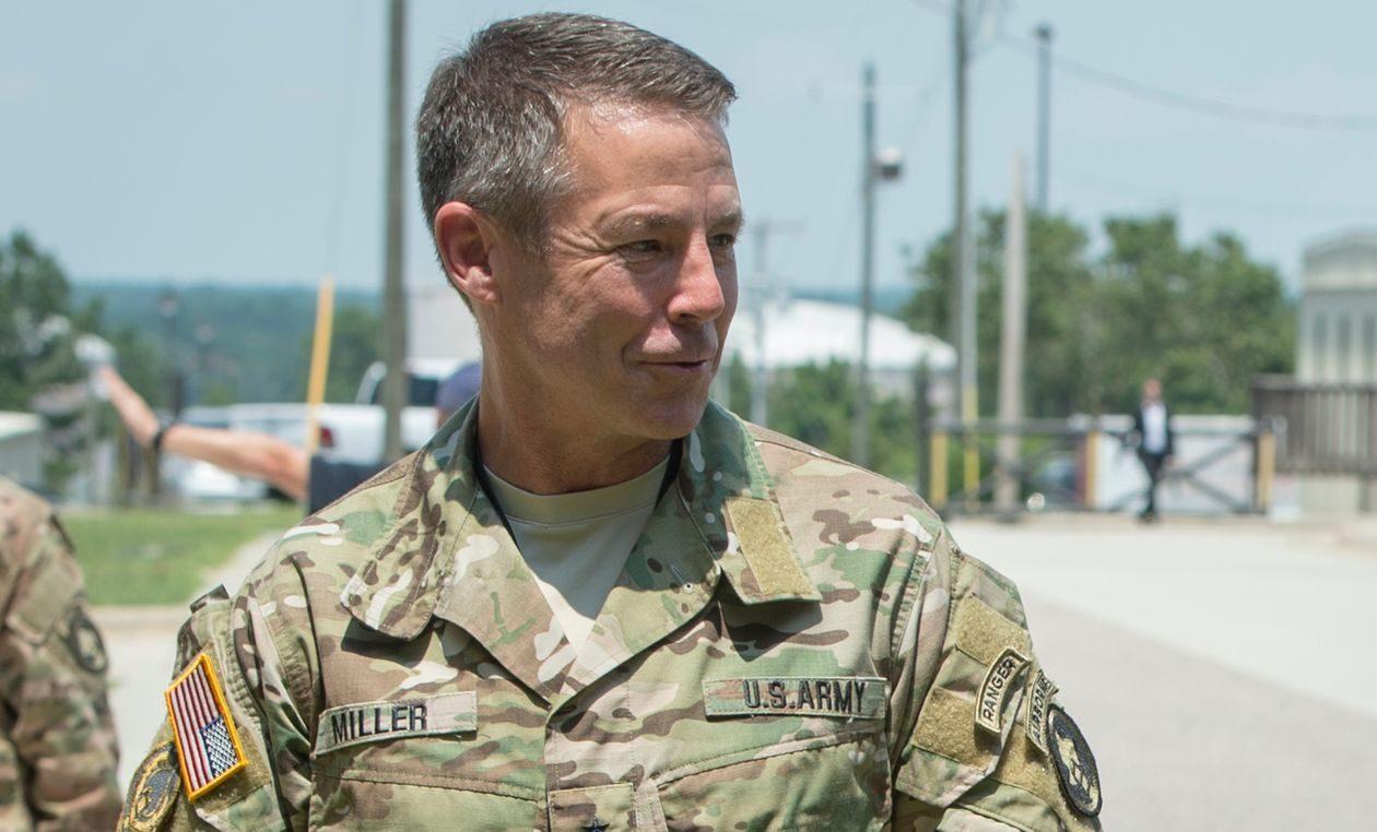 американский генерал Остин Миллер