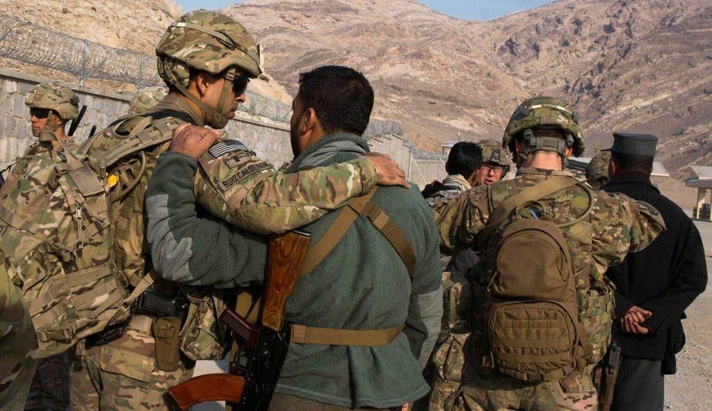 местные сотрудники контингента США в Афганистане