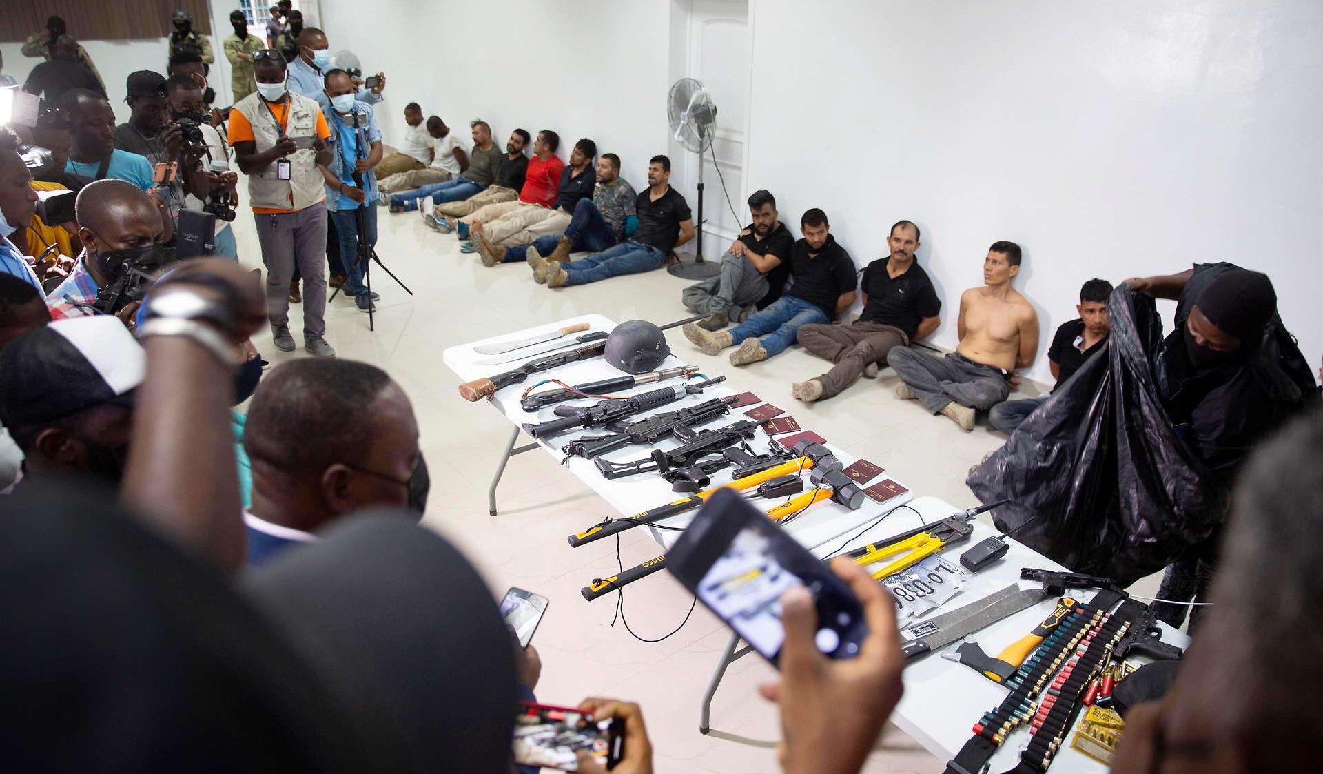 подозреваемые в убийстве президента Гаити