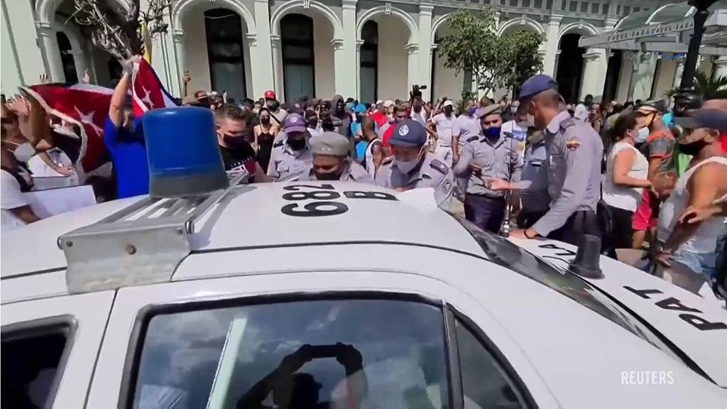 протест на кубе