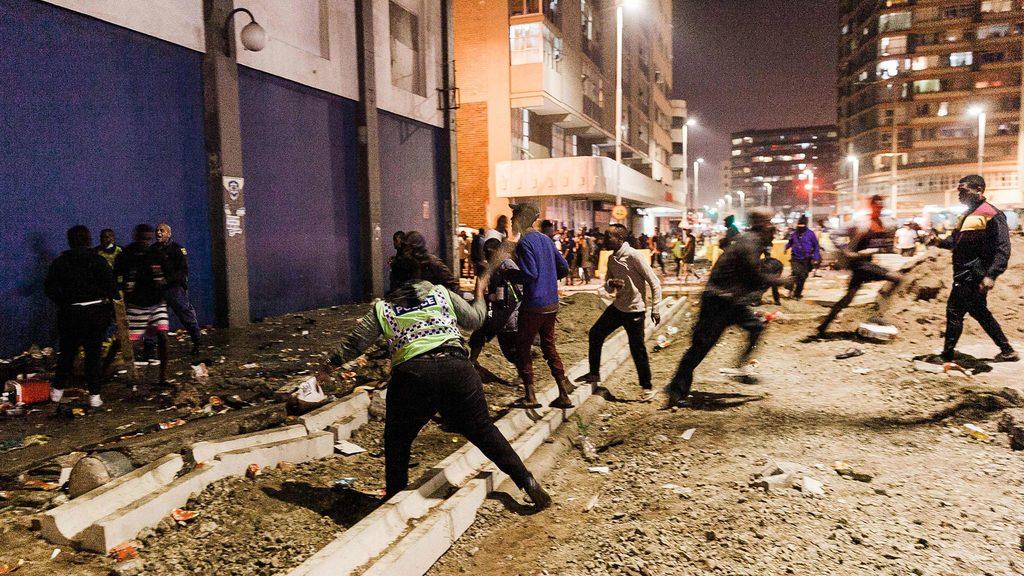 Насилие и беспредел охватили ЮАР
