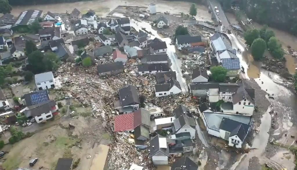 наводнение в Германии июль 2021