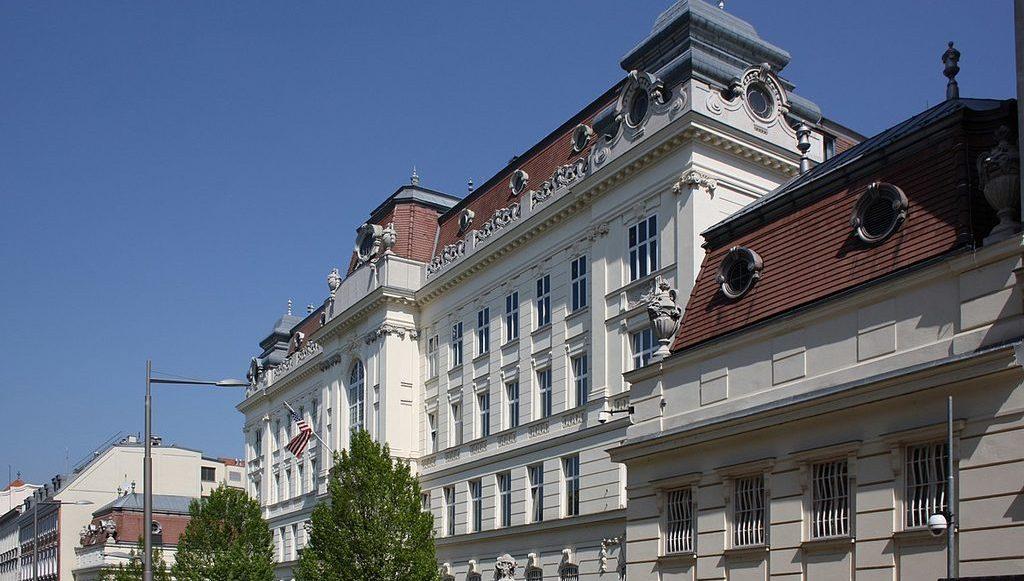 посольство США в Вене