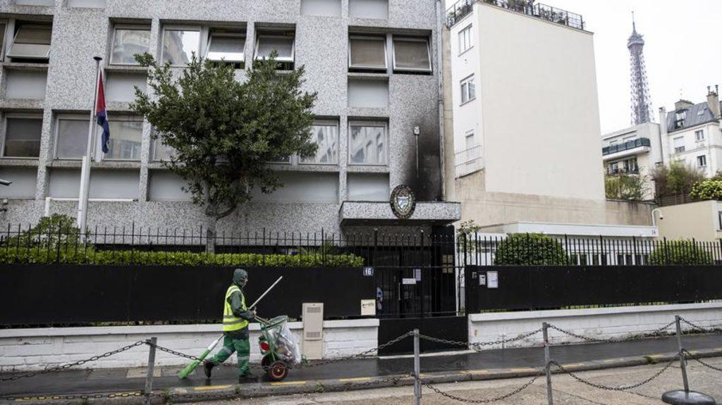 посольство Кубы в Париже