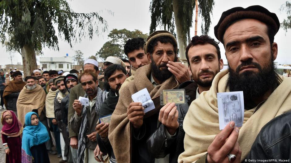 афганские мигранты