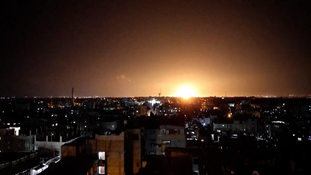 еврейский авиаудар по сектору Газа