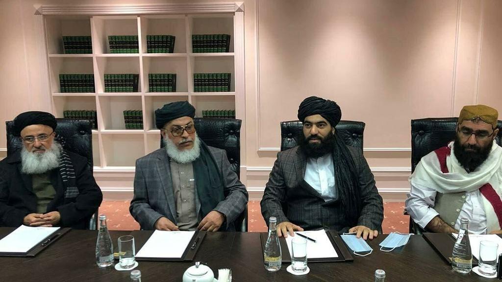 талибская делегация