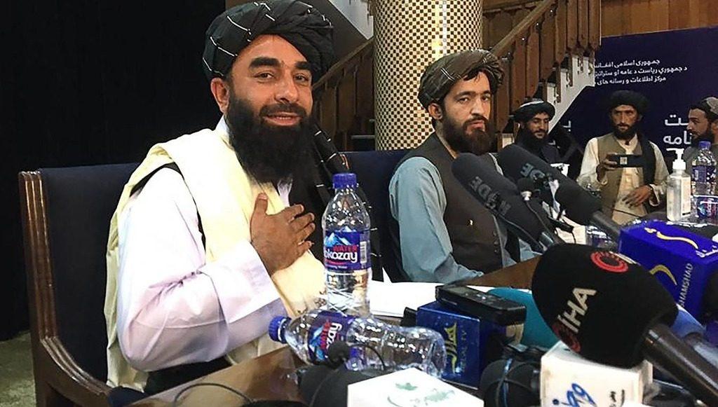 пресс-конференция Талибана