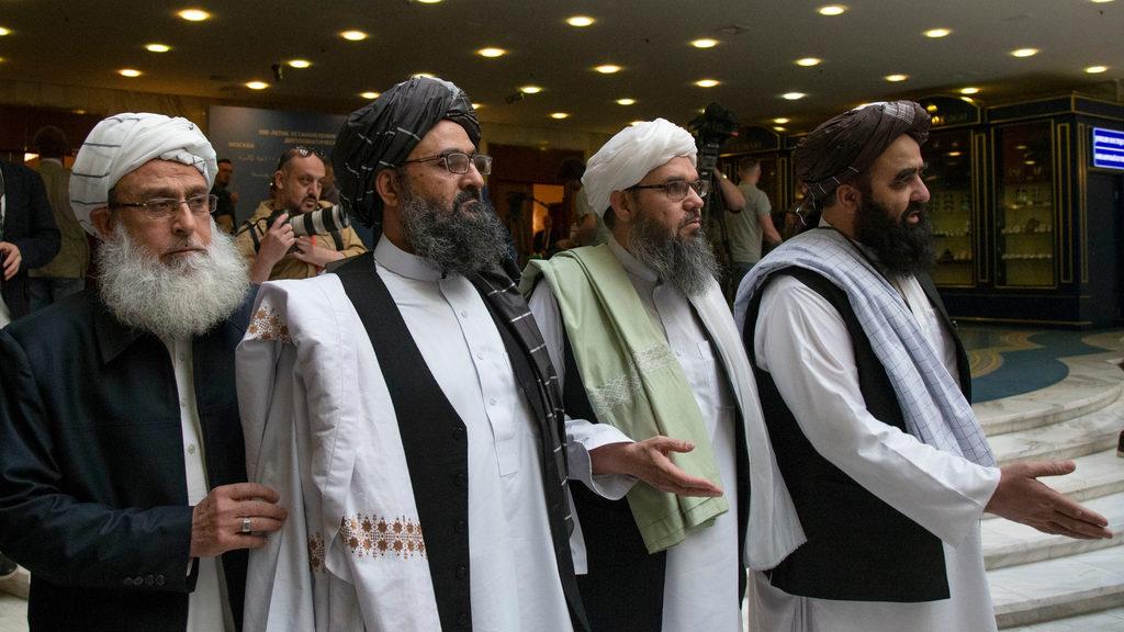 Барадар и делегация талибов