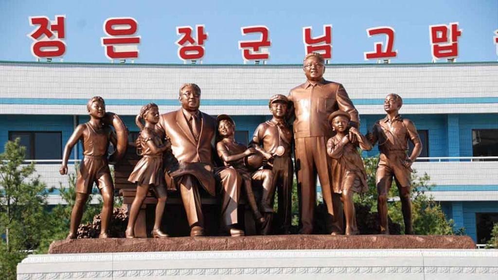 Северная Корея, культ