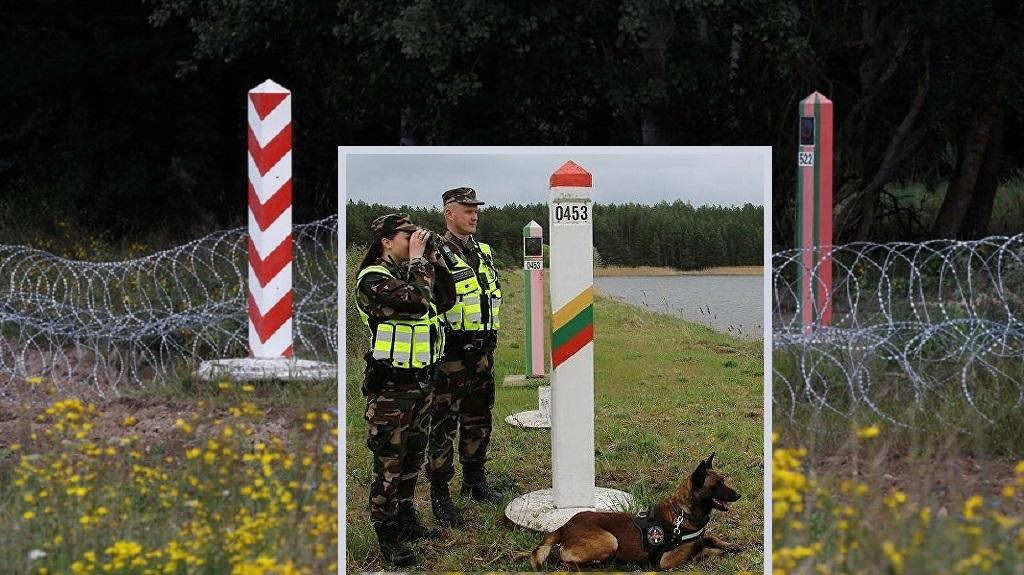 беженцы ломятся через литовско-белорусскую границу