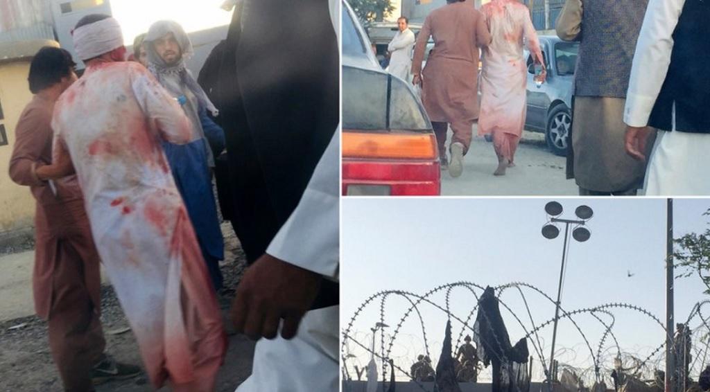 пострадавшие в аэропорту Кабула