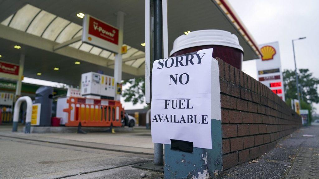 топливный кризис в Британии