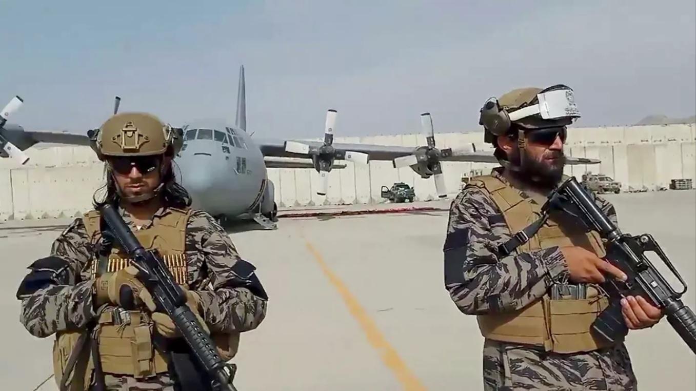 талибы в аэропорту Кабула