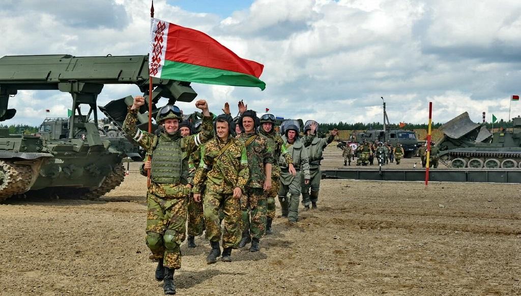белорусские войска
