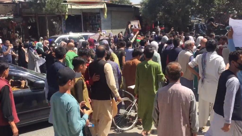 антпакистанский митинг в Кабуле