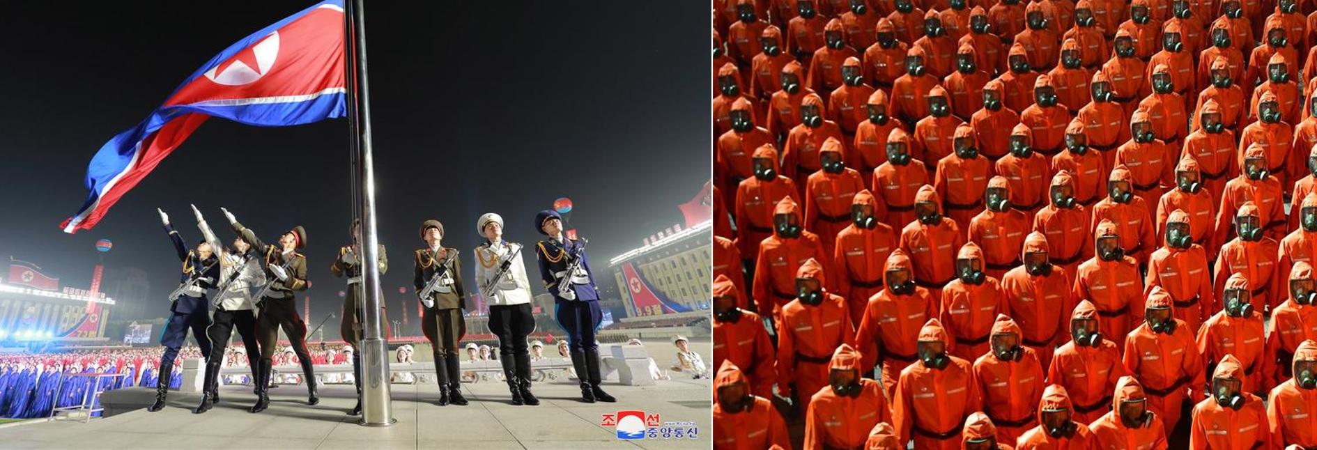 парад в Северной Корее 8 сентября 2021