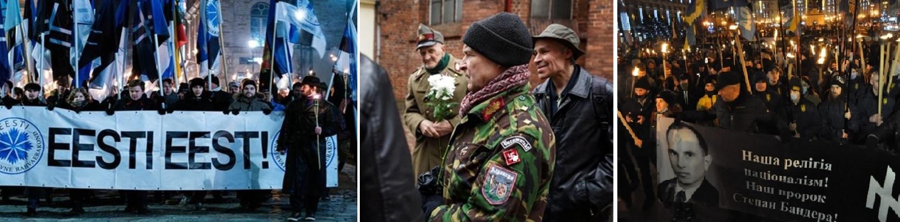 нацисты современной Украины и стран Балтии