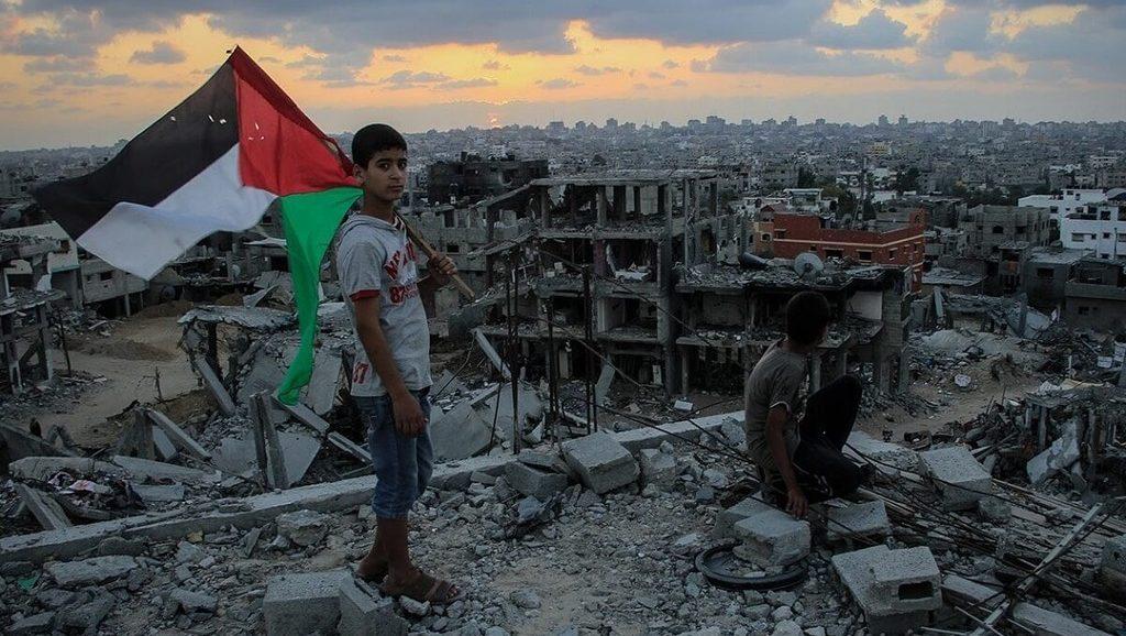 разоренная Палестина