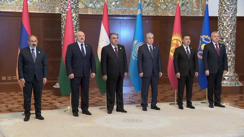 В Душанбе проходит саммит ОДКБ