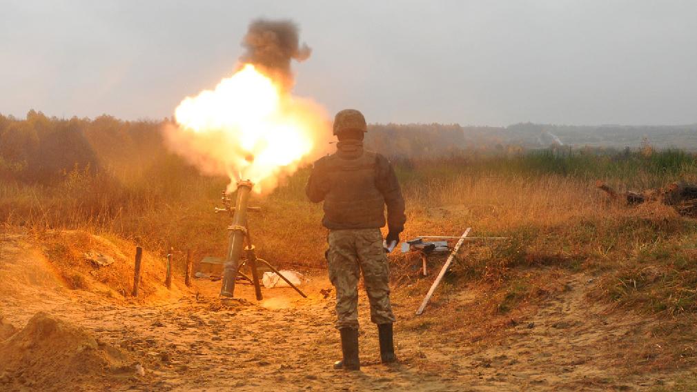 Подразделения ВСУ выпустили утром по Донецку 20 мин