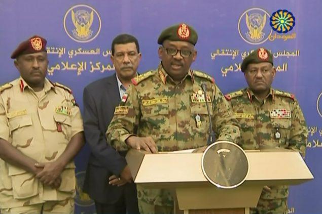 временные власти в Судане лето 2019