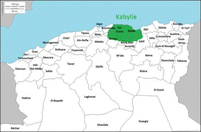 Кабилия в Алжире