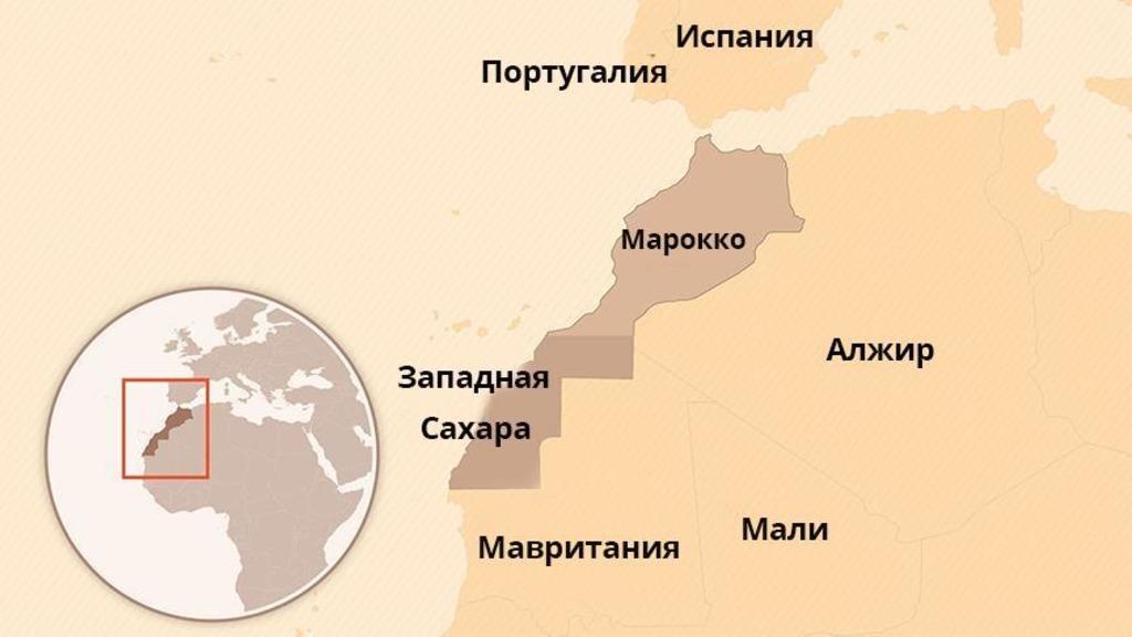 Марокко Алжир Западная Сахара